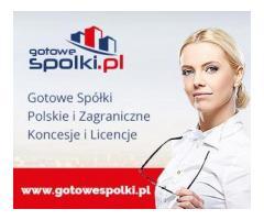 Gotowa Spółka Akcyjne 603557777 / KONCESJA NA HANDEL PALIWAMI OPC / Gotowe Spółki z VAT EU / Gotowe