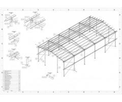 10x20 m. Konstrukcja stalowa hali hala wiata magazyn obora kurnik garaż hal stal