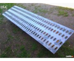 Blachy stalowe LOHR i blacha ryflowana aluminiowa