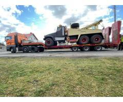 Holowanie Ciężarowe, Pomoc Drogowa Tir, Transport Ciężarowy Poznań