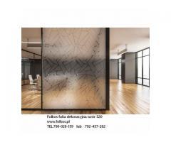 Folie okienne Siedlce -OKlejanie szyb folią- folie dekoracyjne, matowe, bezpieczne, lustro weneckie